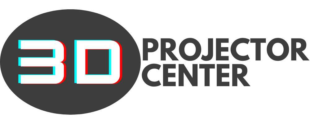3d projector center logo